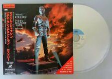 MICHAEL JACKSON Video Greatest Hits History Japan LaserDisc LD w/OBI insert