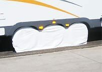 "Triple axle Tire Cover Trailer Toyhauler 14 15"" rim fits 27"" - 29"" diameter tire"