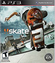 Skate 3 (Sony PlayStation 3, 2010) COMPLETE SKATEBOARDING PS3 FAST SHIPPING