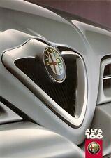 Alfa Romeo 166 1999-2001 UK Market Sales Brochure 2.0 TS 2.5 V6 3.0 V6 Super