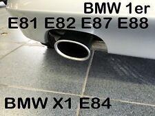 BMW SERIE 1  E82  E88 /  X1 E84 1,8i BENZINA  TERMINALE SCARICO ALU OVALE