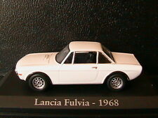 LANCIA FULVIA WHITE 1968 RBA COLLECTABLES 1/43 BIANCA WEISS BLANCHE BLANC ITALIA