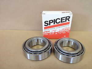 Differential Carrier Bearing Kit OEM GENUINE Dana Spicer Dana 60 FRONT OR REAR
