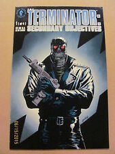 Terminator Secondary Objectives #1 #2 #3 #4 Dark Horse Comics 1991 Full Series