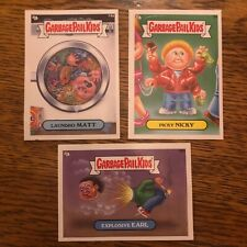 Garbage Pail Kids Sticker Cards 2012 Picky Nicky Laundro Matt Explosive Earl Lot