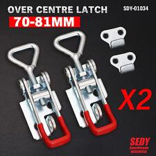 Over Centre Latch Small 2 Pcs Trailer Toggle Overcentre Latch Fastener UTE 4WD