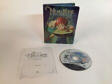 Ni No Kuni Wrath of the White Witch PS3 Playstation 3 Limited Steel Case Edition