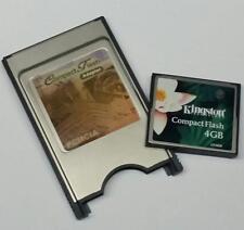 Honda CR-V 4GB PCMCIA CF Multi CARD READER KIT slot per PC Card/