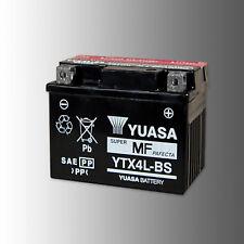 Yuasa ytx4l-bs batería de motocicleta 12v 3ah AGM VRLA cierre libre de mantenimiento