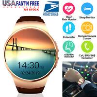 Wireless Smart Watch Wrist Splash Proof Phone Mate Android Samsung IOS iPhone