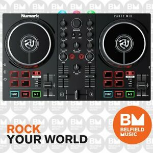 Numark Partymix II DJ Controller 2-Channel with Built In Lights Show Party Mix -