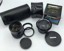 Zykkor Super Wider Semi Fish-Eye 0.42X Lens & Sakar Lens Camera Lot.
