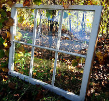 VINTAGE SASH ANTIQUE WOOD WINDOW PICTURE FRAME PINTEREST WEDDING 6 PANE NO GLASS