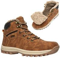 Herren Damen Winter Wanderschuhe Outdoor Snow Boots Trekking Gefüttert Schuhe