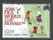 Cyprus Stamps SG 2018 FIFA World Cup Football Russia - MINT PERFECT --- NEW