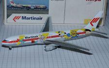 """Herpa Wings 1/400 BOEING B767-300 MARTINAIR """" FOX KIDS """" PH-MCL"""