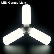 45W E27 LED Ceiling Fan Lamp Shop Work Light 3850LM Indoor Folding Garage Lamp