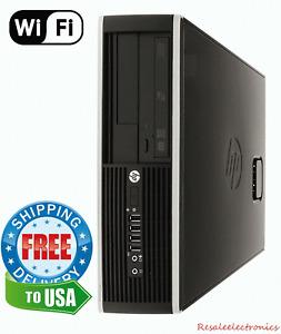Ultra Fast HP Desktop Computer Quad Core i5 8GB RAM 1TB HD Windows 10 DVD WiFi