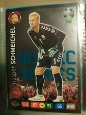 Uefa euro2020 Adrenalyn xl Very rare Nordic herous 469 Schmeichel