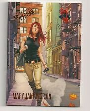 2017 FLEER ULTRA SPIDER-MAN BASE CARD #10 MARY JANE WATSON