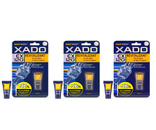 3Pcs x Xado EX120 REVITALIZANT Additive For DIESEL Engines NEW LARGER 9ML TUBES