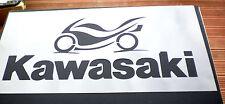 Alto detalle aerógrafo de plantilla KAWASAKI LOGO GRATIS UK FRANQUEO