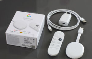Google Chromecast avec Google TV 4К Passerelle Multimédia avec Google Assistant