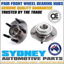 2 x Ford Falcon AU 1998 1999 2000 2001 2002 Front Wheel Bearing Hubs LEFT+RIGHT