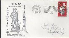 1965 SAC Minuteman Instant ICBM launched from Vandenberg, fffff