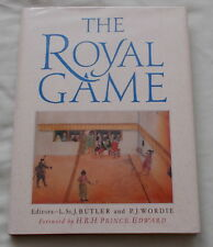 THE ROYAL GAME REAL TENNIS BOOK EDITED BY ST JOHN BUTLER & WORDIE 1989 1ST ED.