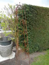 grimpe plantes obélisque décoration de jardin en fer forgé plein !! tourelle