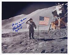 DAVE SCOTT APOLLO 15  MOON WALKER - EVA - NASA HAND SIGNED  8 x10 PHOTO W /LOA