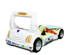 Camion Auto Enfants Lit D'Enfant pour Jeunes Lits Meubles Neuf Blanc
