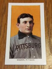 1909 T-206 Honus Wagner worlds most famous most valuable card reprint mint