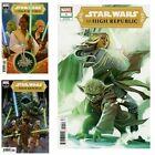 Star Wars High Republic #1 Hans Variant A  B C Comic Lot Set