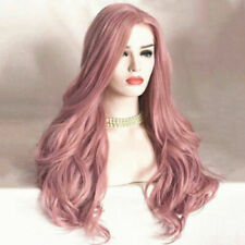 TOP Women Ladies Synthetic Hair Lace Front Wig Long Wavy Full Wigs Cosplay GIFT
