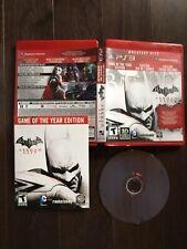 Batman: Arkham City -- Greatest  Hits Edition (Sony PlayStation 3, 2012) PS3