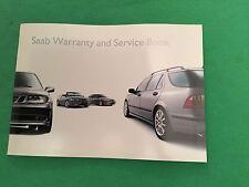Genuine Saab Service Book. Covers All 2002 Models Unused Brand New