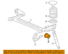 GM OEM Rear Suspension-Axle Beam Insulator 20902798