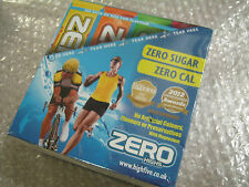 8 x Tubes of 20 ZERO Electrolyte Sports Drink Tabs 160 Tablets Citrus flavour