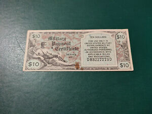 USA Banknote 10 Dollar 1951 !!!!!!!