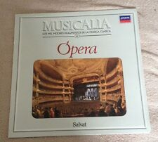LP MUSICALIA OPERA SALVAT LONDON 1986 SPANISH.