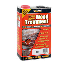 Everbuild Lumberjack Wood Treatment Preserver Triple Action 5L LJUN05