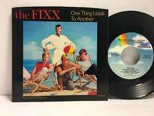 The Fixx - One Thing Leads to Another 45 Rpm - Tested Ex- Vinyl + Sleeve - F6
