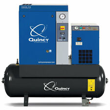 Quincy QGS 7.5-HP 60-Gallon Rotary Screw Compressor w/ Dryer (230V 1-Phase)