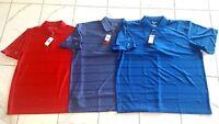 NWT Men's Antigua Golf Polo Short Sleeve Shirt Desert Dry Moisture Wick L, XXL
