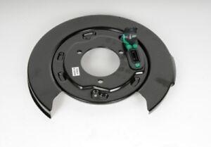 Brake Backing Plate Rear Left ACDelco GM Original Equipment 25911891