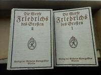 Die Werke Friedrichs des Großen für die Gegenwart 1915 Adolf Menzel Oln.