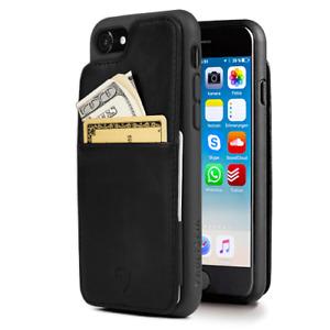 Vaultskin ETON ARMOUR Leather Wallet Case for Apple iPhone 7 PLUS / 8 PLUS