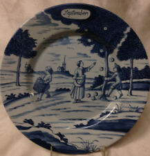 "DELFT HOLLAND METROPOLITAN MUSEUM OF ART MONTH OF YEAR SEPTEMBER PLATE 9"" MMA"